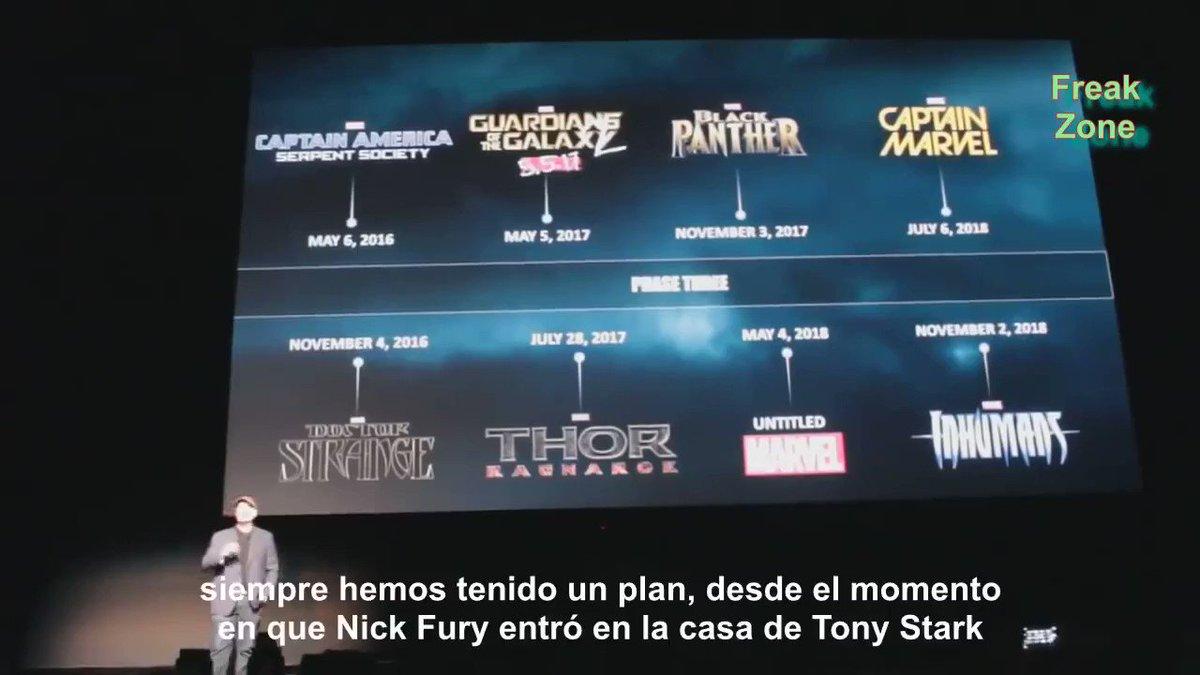 LO MEJOR QUE VAS A VER EN MUCHO TIEMPO Kevin Feige anunciaba en vivo con un video inédito que iba a haber una tercera película de los Avengers. La gente pierde totalmente la cabeza. Veanlo hasta el final porque es una LOCURA 🔥