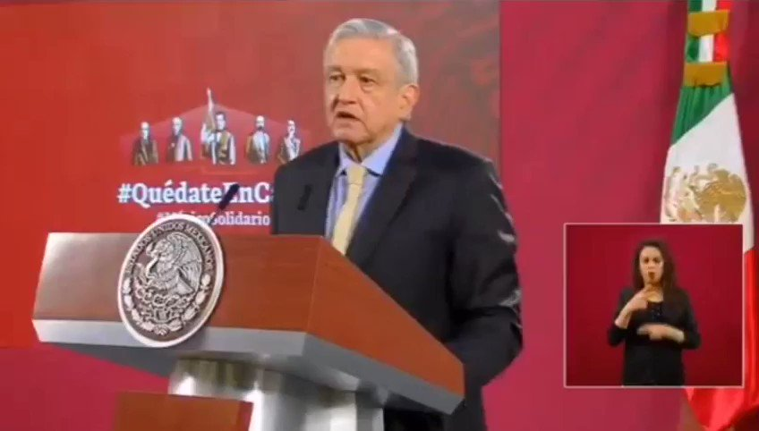 Image for the Tweet beginning: 🔴 El presidente @lopezobrador_ va
