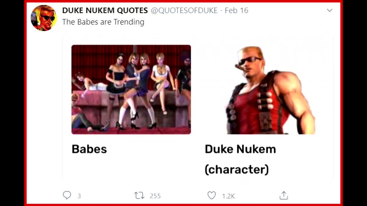 DUBBING ALL @QUOTESOFDUKE. WEEK 14. THIS WEEKS ARTISTS: @UNLIVINGSTARRY, @_STORM934, @SNAKEHUGZ, @ADE__N, @ZACSKOSLEVES41, @JITTERYTHING, @MAGICPOLYGON, @TASCHDRAWS. IF YOUD LIKE YOUR DUKE FANART FEATURED, PLEASE DM ME THE AFOREMENTIONED FANART. QUALITY IRRELEVANT.