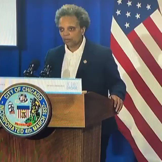 Chicago Mayor Lori Lightfoot has two words for Donald Trump