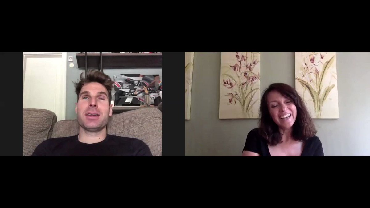 IndyCar driver @12WillPower, who guests in tonights British F3 iRacing Championship at Silverstone, tells @loudspeakerplss Louise Beckett how coaching his wife in oval racing in the US was more stressful than racing himself! #iracing