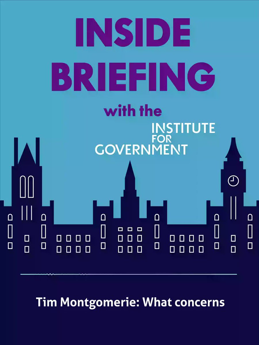 PODCAST 🎙️ What does the Dominic Cummings row mean for the governments coronavirus strategy? @bronwenmaddox @DrHannahWhite and @jillongovt discuss on Inside Briefing with guest @montie instituteforgovernment.org.uk/podcast