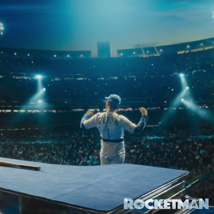 Here we go - press play now! #RocketmanWatchParty