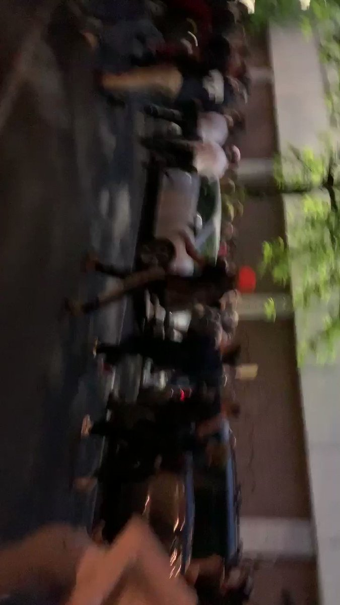 """NYPD officer just called a female protester a """"stupid fucking bitch"""" and threw her to the ground"""