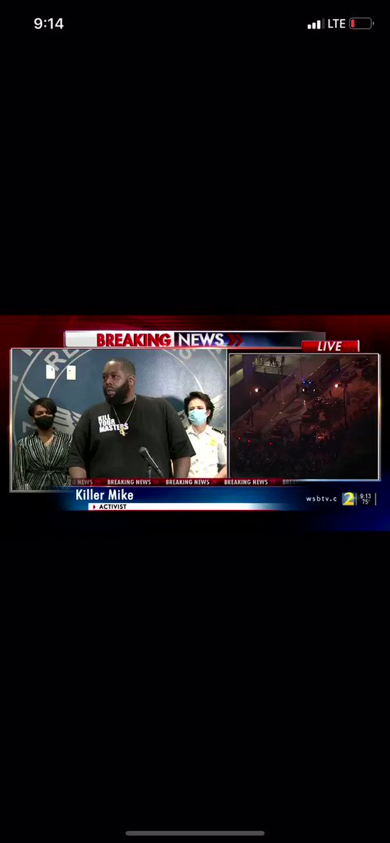 "ATL's Killer Mike to CNN:   ""I love CNN — but karma's a mother... Stop feeding fear & anger everyday."""