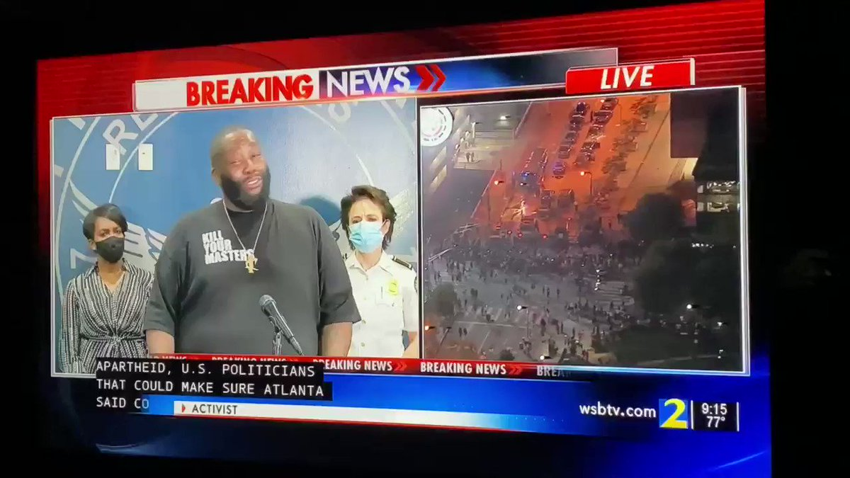 Nah Fr Killer Mike speaking that real #ATLANTAPROTEST #GEORGEFLOYDPROTEST #GEORGEFLOYD #ATLANTA #VIAL #TRENDING #ATLANTA #KILLERMIKE #JUSTICEFORGEORGEFLOYDpic.twitter.com/lJi4Qtoldd