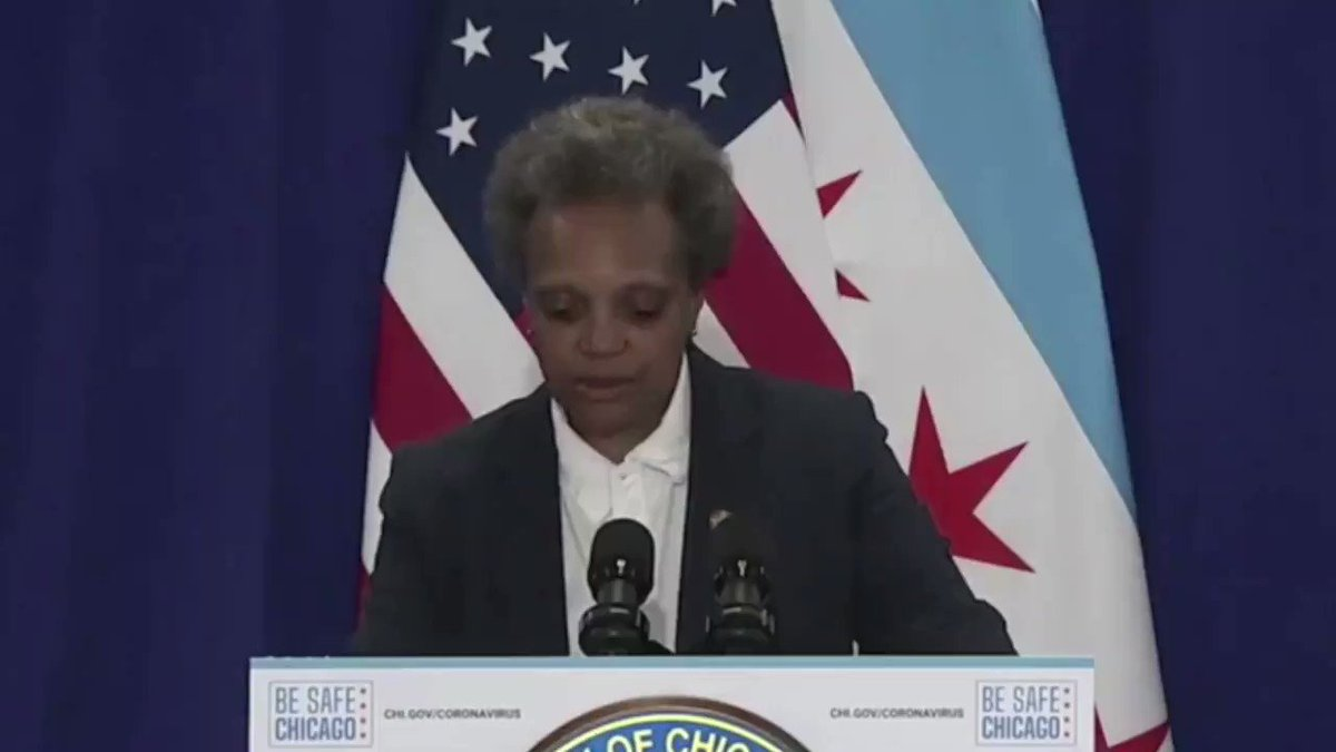"#NEW: Chicago Mayor Lori Lightfoot:   ""We see the game he's [President Trump] playing because he's so transparent... he wants to show failures on the part of Democratic local leaders to throw red meat to his base. That's not leadership, that's cowardice."" pic.twitter.com/w8QXu90Iil"