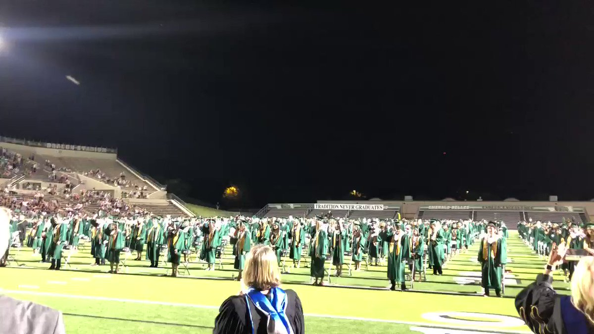 Image for the Tweet beginning: Congratulations to the @Carrollisd Class