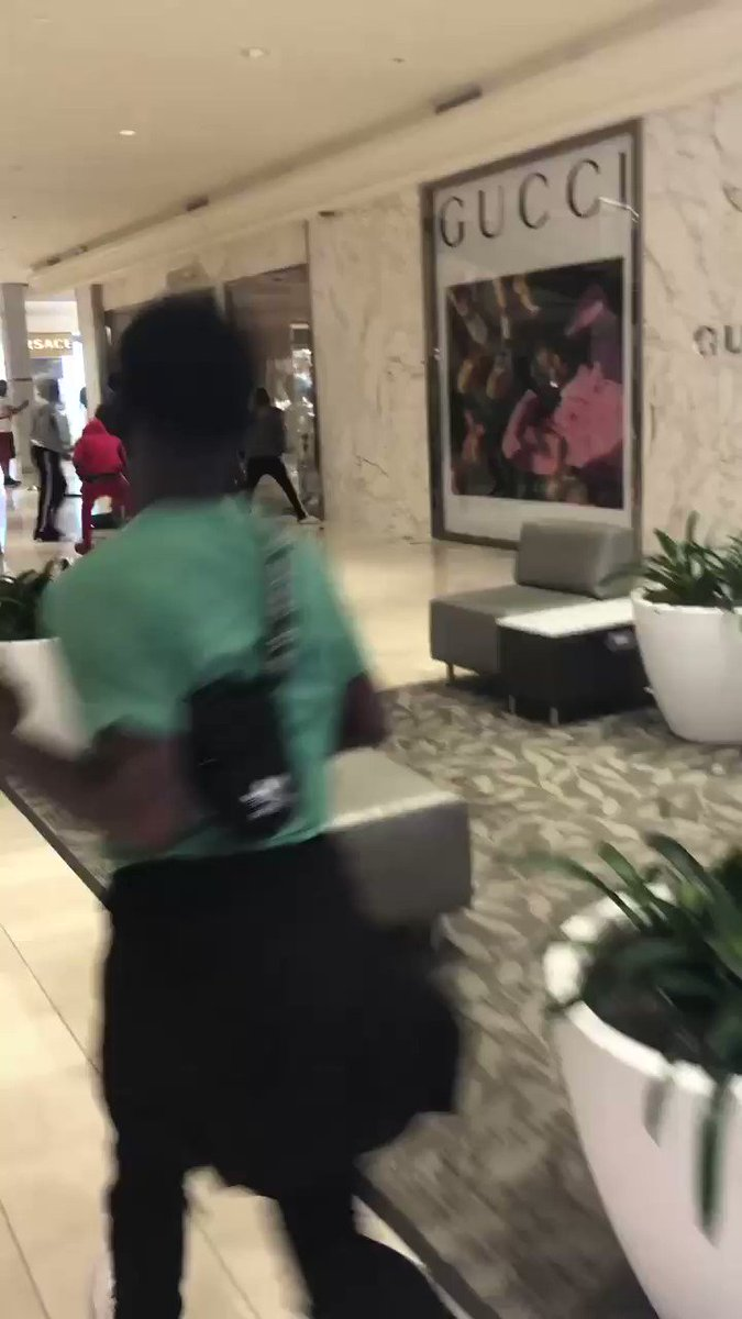 Upscale mall in #Atlanta broken into.   Why is the default setting of these people to steal and destroy? #atlantaprotestpic.twitter.com/Gpit56kfz6