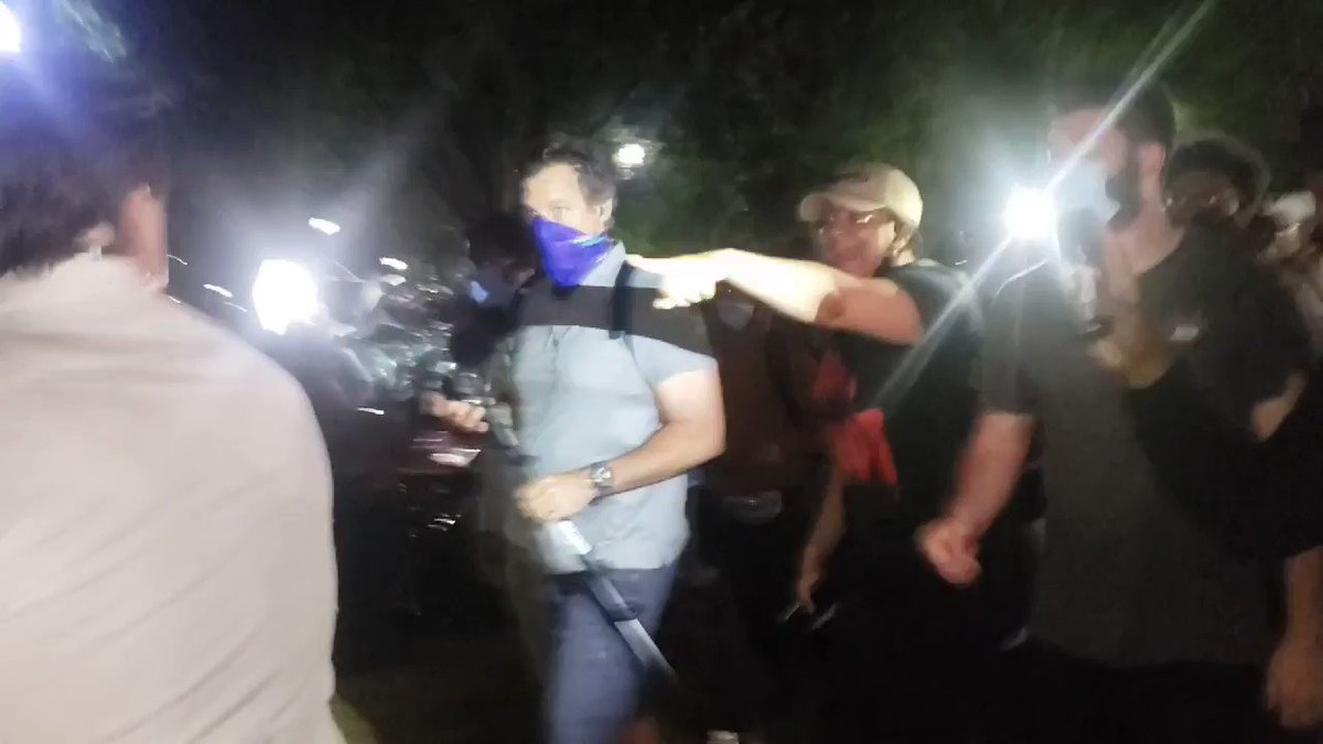 BREAKING: Fox News' @LelandVittert & crew robbed and assaulted while covering protest outside of the White House