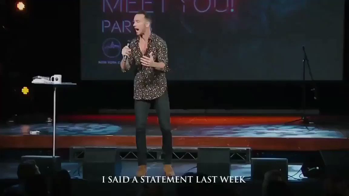 A Christian way of explaining Black lives matter to someone who keeps saying All lives matter. Thank you Carl Lentz.