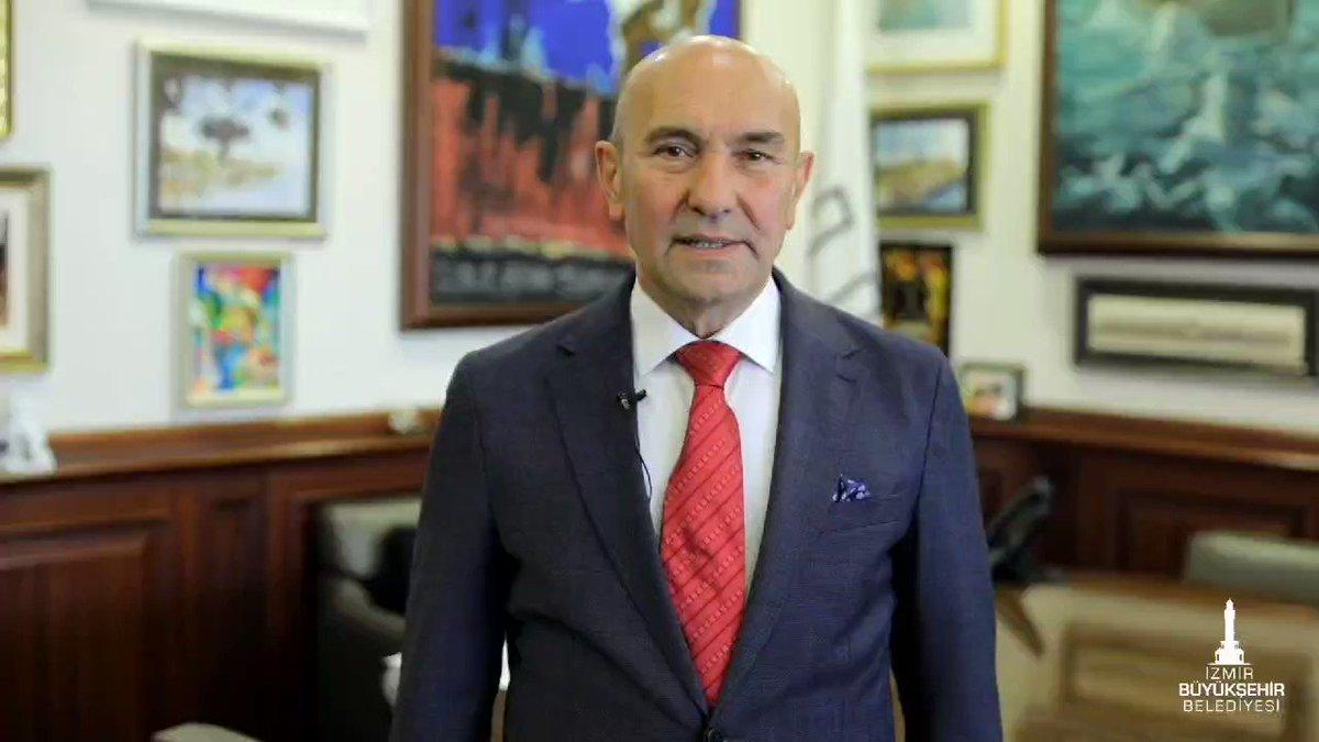 Image for the Tweet beginning: Salgın var diye İzmir'in fuarcılık