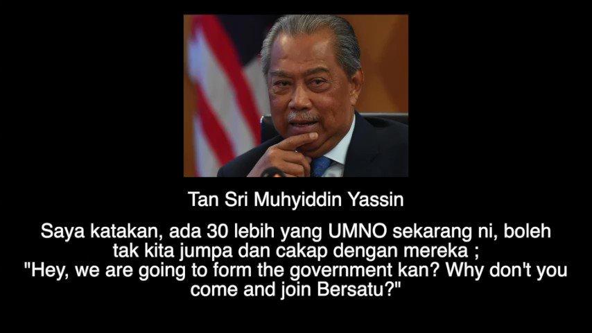 Leaked audio Abah? Kita ambik seorang-seorang UMNO. Kita tawar jawatan GLC. Kita tawar jawatan menteri. Apa beza nak join Bersatu, apa beza nak kekal dalam UMNO? #schemeofthings