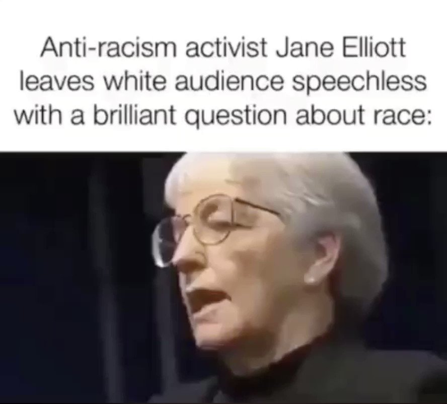 Jane Elliott is brilliant this so relevant to the U.K. listen and retweet the #government is treating the people like mugs we are not mugs but we know they are doing it isn't it time we stood up and take back control of the #UnitedKingdom from @10DowningStreet ? I want my UK backpic.twitter.com/2Rt1dTtgZ5