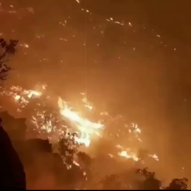 Zagros, Iraq is currently on fire and NO MEDIA OUTLET IS MENTIONING IT‼️