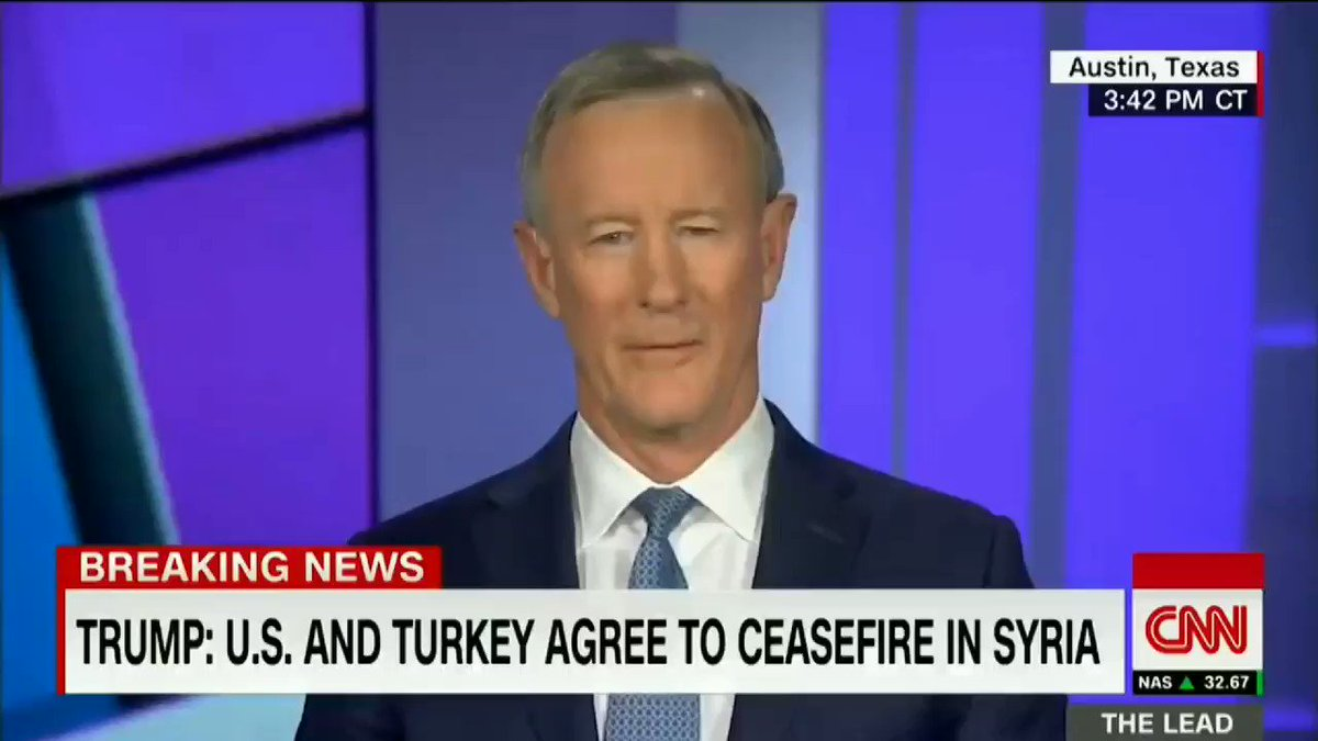 @TalbertSwan @realDonaldTrump @SecretService The guy who lead the team that KILLED OSAMA BIN LADEN (Admiral Mcraven) tells it like it is about @realDonaldTrump.  And before Trumpettes lose their cool, this guy served under numerous Dem & Rep Presidents for over 30 yrs. Fox is afraid to host him. #Biden2020Landslide
