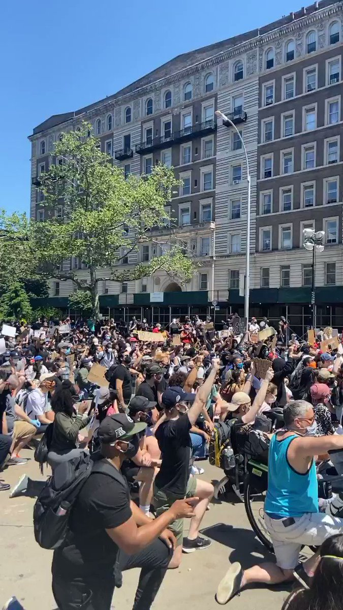 Harlem New York Racism and injustice has been around for far too long! The Justice Dept, Police, Racists and the Leader of them all , Trump! He didn't start it , he's encouraging it. How many times have u seen KKK at a Presidential Rally? #Demcast