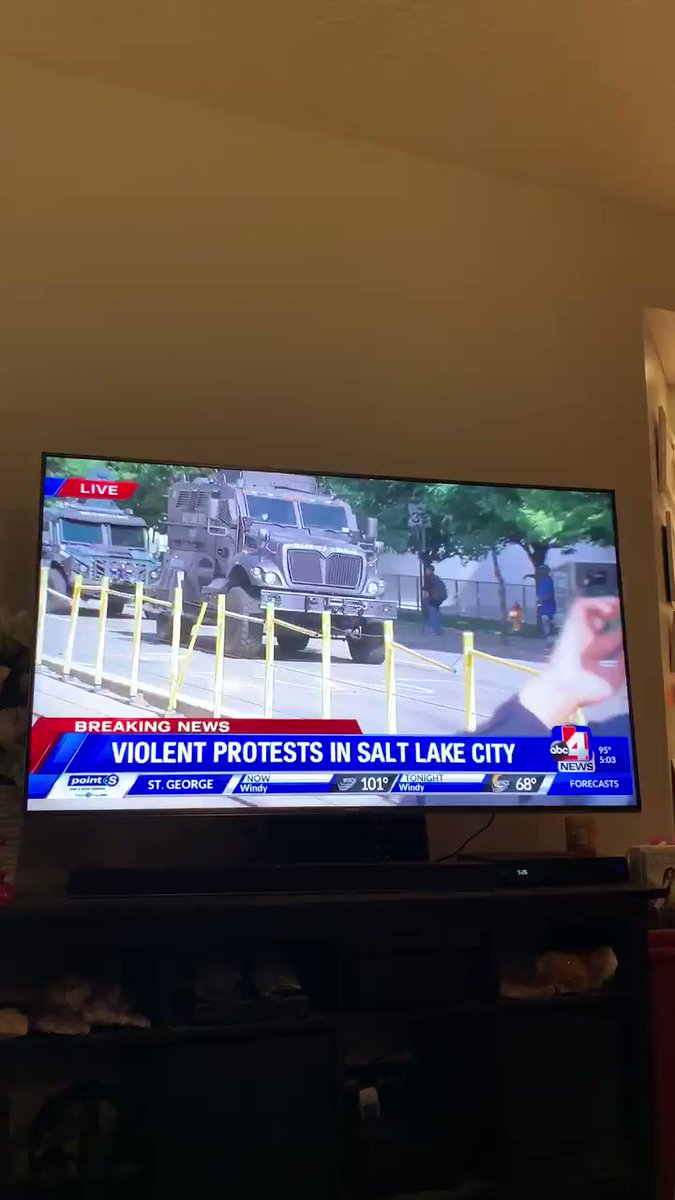 In today's criminal justice news, a SWAT unit in Salt Lake City UT deploys   And decides one of their top priorities is knocking a gray-haired old man with a cane down to the ground