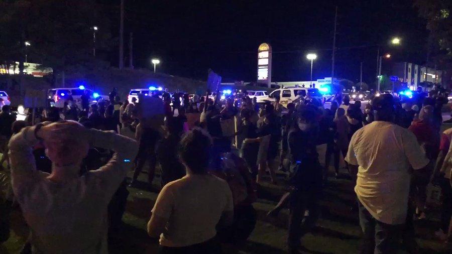 George Floyd killing protests