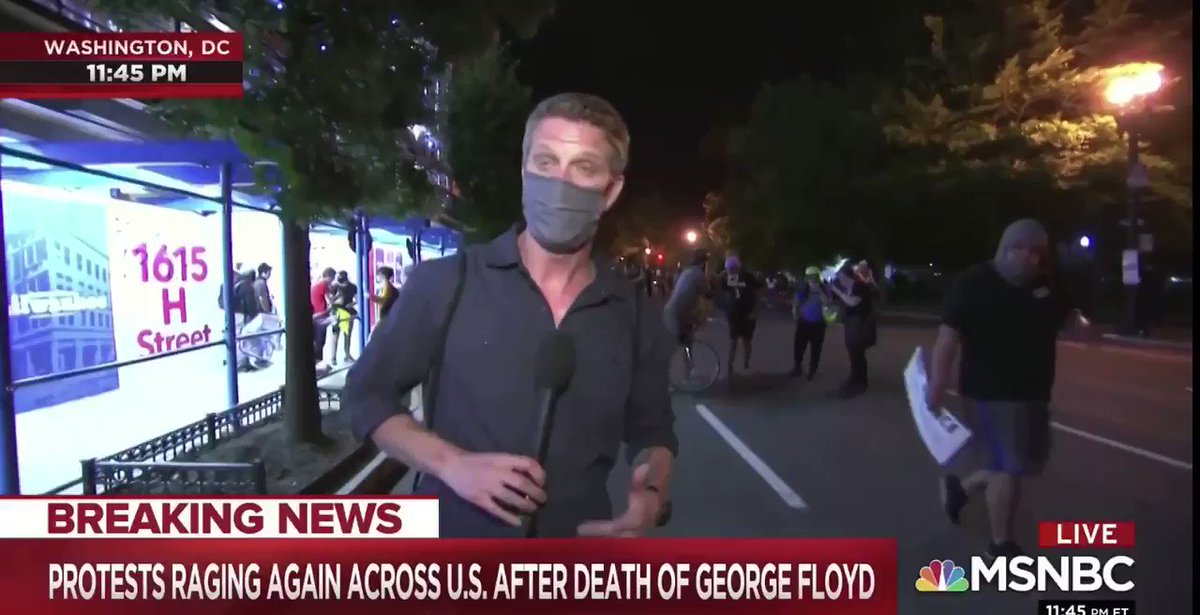 Crazy stuff going on in DC