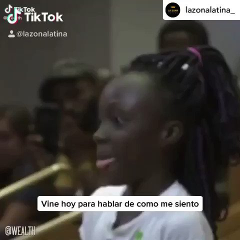 """""""We do this because we need to. We have rights. """" #blacklivesmatter Posted @withregram • @lazonalatina_"""