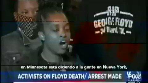 ¡PUEBLO DE EEUU SE REVELA ANTE LA INJUSTICIA! Activista Tamika Mallory habla de porque las protestas siguen sacudiendo las calles de Estados Unidos tras el asesinato de #GeorgeFloyd