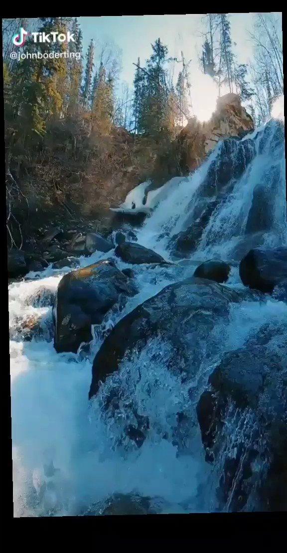HEALTHY ATTITIDE IS CONTAGEOUS, BUT DON'T WAIT TO CATCH IT FROM OTHERS - BE THE CARRIER.       @johnboderting #TikTok #contentcreator #travel #alaska #alaskalife #worldtravel #wanderlust #waterfall #beauty #wow  Good morning dear friends. pic.twitter.com/QKll1c9tz9