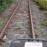 秋田県、廃線跡を自転車で巡る遊び!