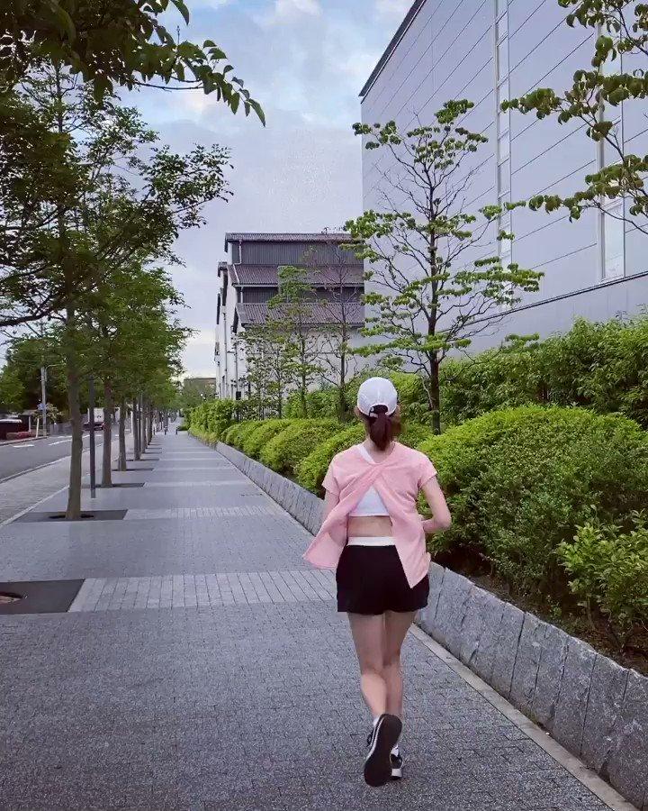朝ラン🏃♀️#おはようございます#朝ラン#ランニング#ジョギング#マラソン#ホノルルマラソン#ダイエット#トレーニング