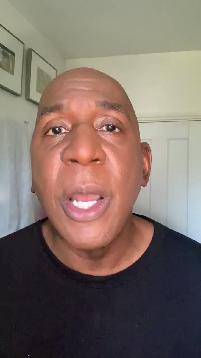 2/2 MESSAGE OF SUPPORT& to all my family, friends & followers in America & beyond. The start of this video message is on 1/2 which I just posted. It's 3.40 am in UK now so goodnight all   #Staypositive  #StaySafeStayHealthy #StayStrong #GeorgeFloyd #BLACK_LIVES_MATTER pic.twitter.com/9zcLVXxYVy