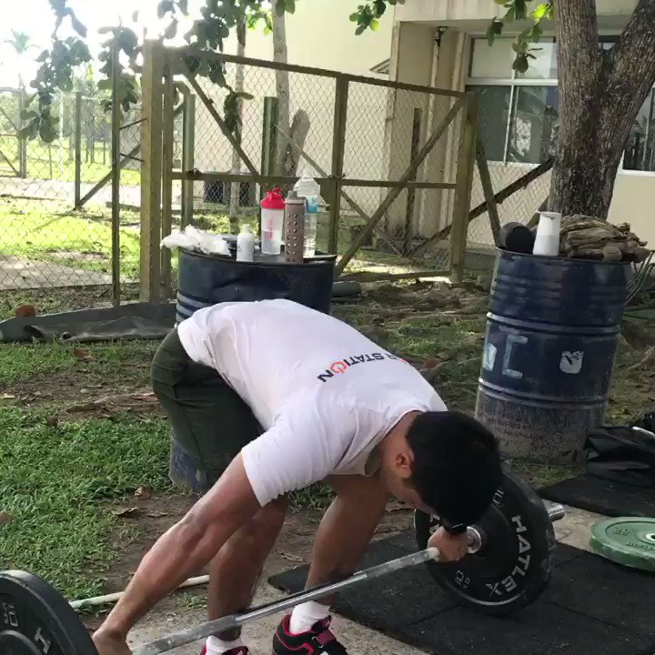 To improve your speed and the rate at which your body produces force to perform physical activity is paramount. Therefore,working on olympic lifts as per your ability will enable you to add another strong string to your bow and athletic qualities#strengthtraining #personaltrainer pic.twitter.com/jrxmKynX7Y