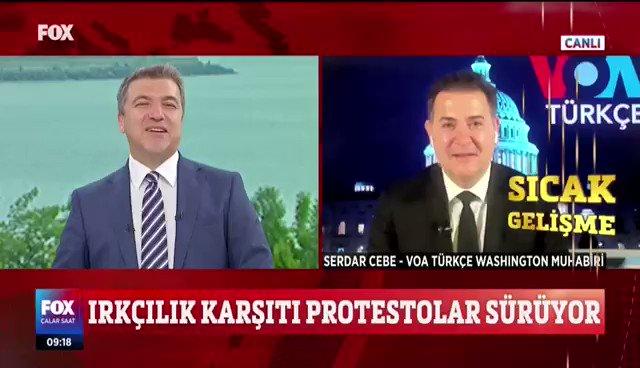 ABD Başkanı #DonaldTrump güvenlik güçleri tarafından sığınağa götürüldü iddiası doğru mu? #SerdarCebe ırkçılık karşıtı isyanlardaki son durumu #İsmailKüçükkaya ile #ÇalarSaat'te aktardı.