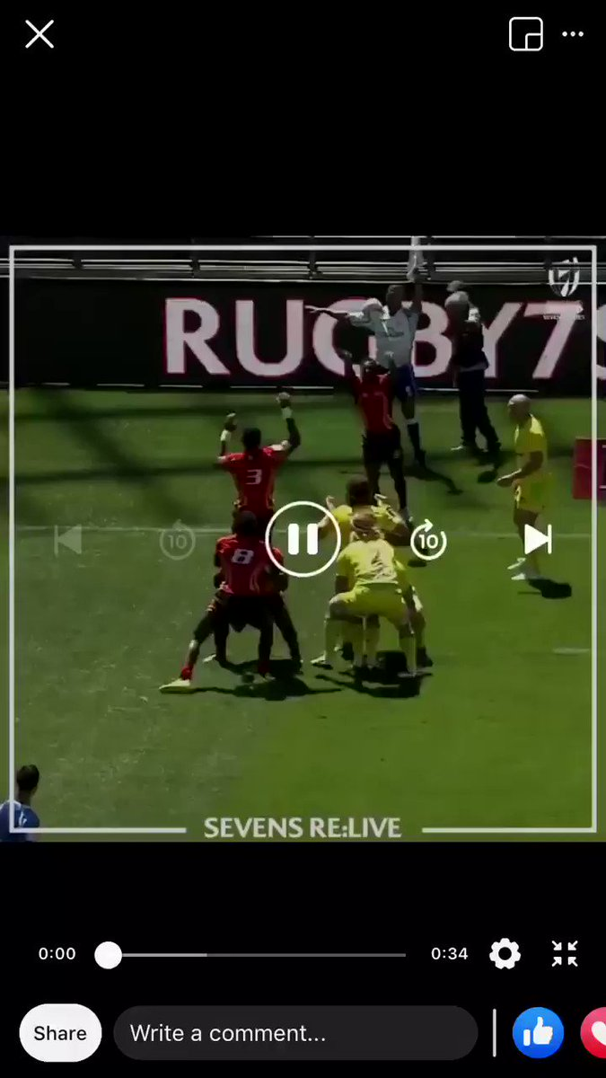 #MondayMotivation:   Rugby may be on hold but the good memories are not.   #Uganda vs #Australia (2016) Try: @sebslaurence  : World Rugby Sevenspic.twitter.com/qF4Jname7u