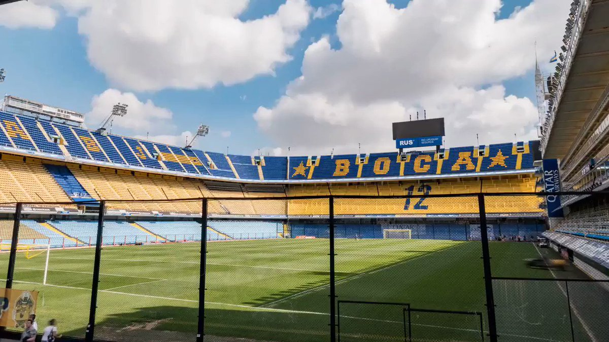 Image for the Tweet beginning: How Boca Juniors in Argentina