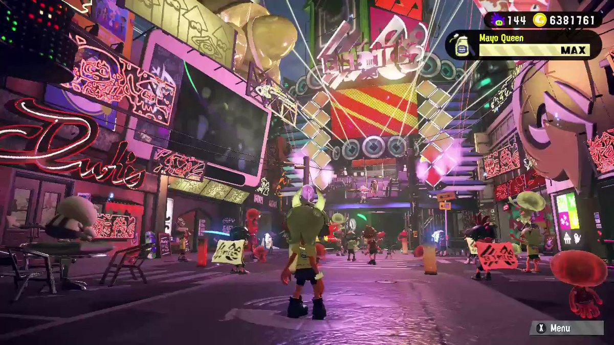 It's not over till you hit 'A' #Splatoon2 #NintendoSwitch #splatfest