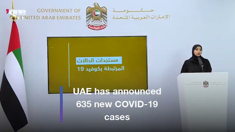 Dr Amna Al Shamsi, Government spokesperson has announced that 30,000 additional #COVID19 tests have been carried out resulting in the detection of 635 new cases. #EmiratesNews #DubaiOneTv #WeAreAllResponsible #Coronavirus #UAE #Dubai