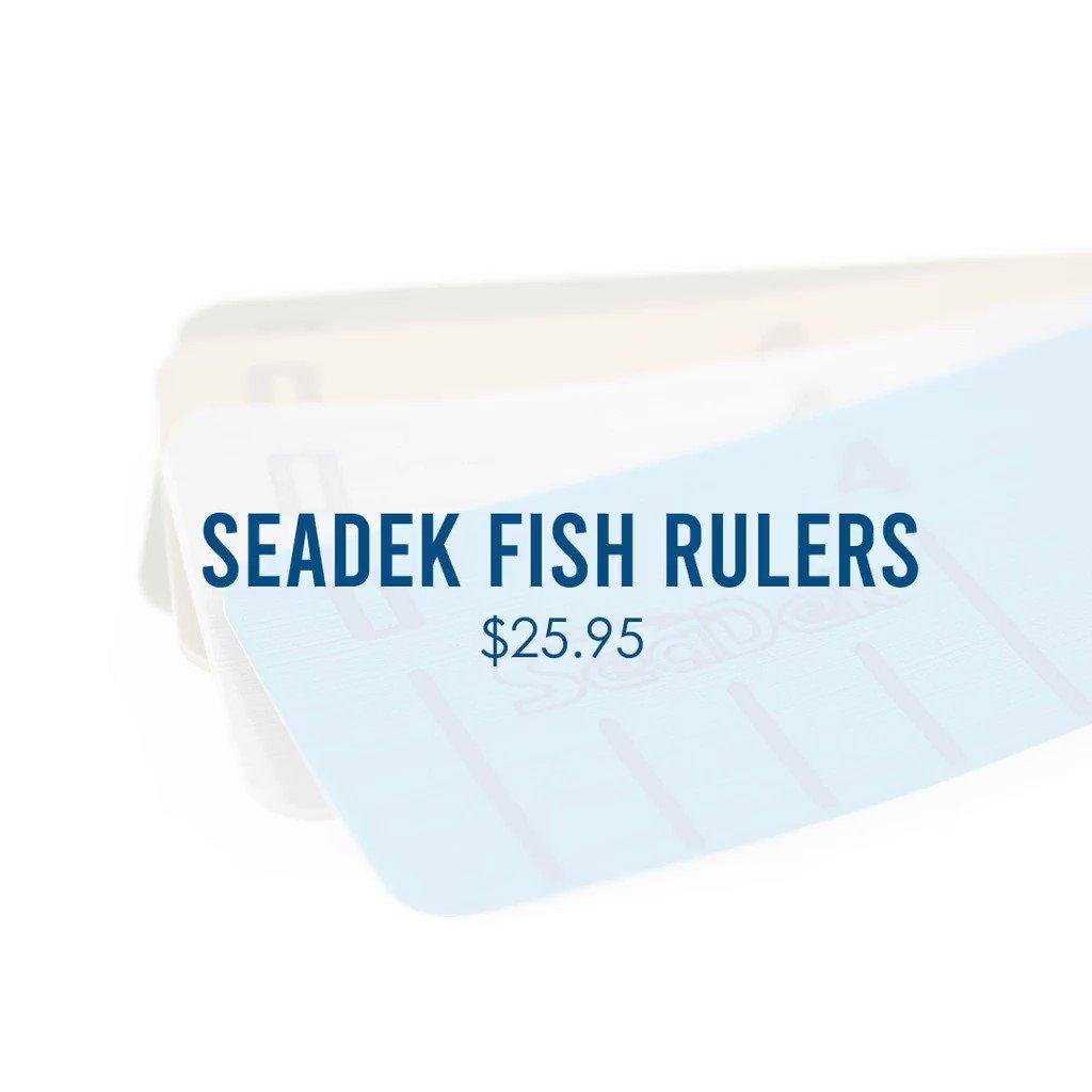 #SeaDek fish rulers are the perfect addition for any boat!  Buy yours tod...  #seadek #genuineseadek #seadeked #marineflooring #industryleader #boating #nonskid #nonslip #antifatigue #trustedbythebest #innovation #carpetstinks #fishrulers #fishingwithseadek