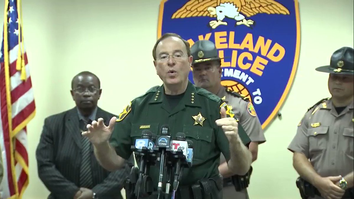 Sheriff Grady Judd is a plan spoken man who says what he means and means what he says... & always been that way #AntifaTerrorist or any other criminals should beware in Polk County & in ANY OTHER burb or rural area of America.  We take these things very seriously #LibertyFirst