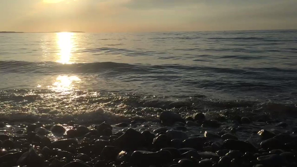 Soothing sounds of the sea. #sea #waves #listen
