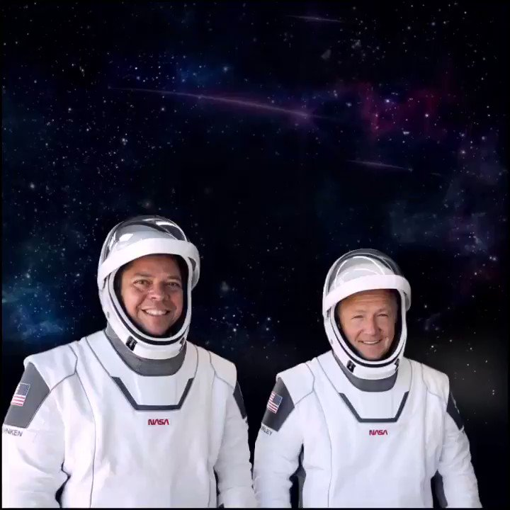 Bob and Doug, commanders of SpaceX Crew Dragon, deserve a taste that's out of this world. They deserve a REZ! 🌎 🚀 #NASA #spacex #spaceforce #astronauts #DrinkREZ #antioxidant #electrolytes #turmeric #glucosamine #healthylifestyle #vegandrink #ketodrinks #0sugar #zerosugar