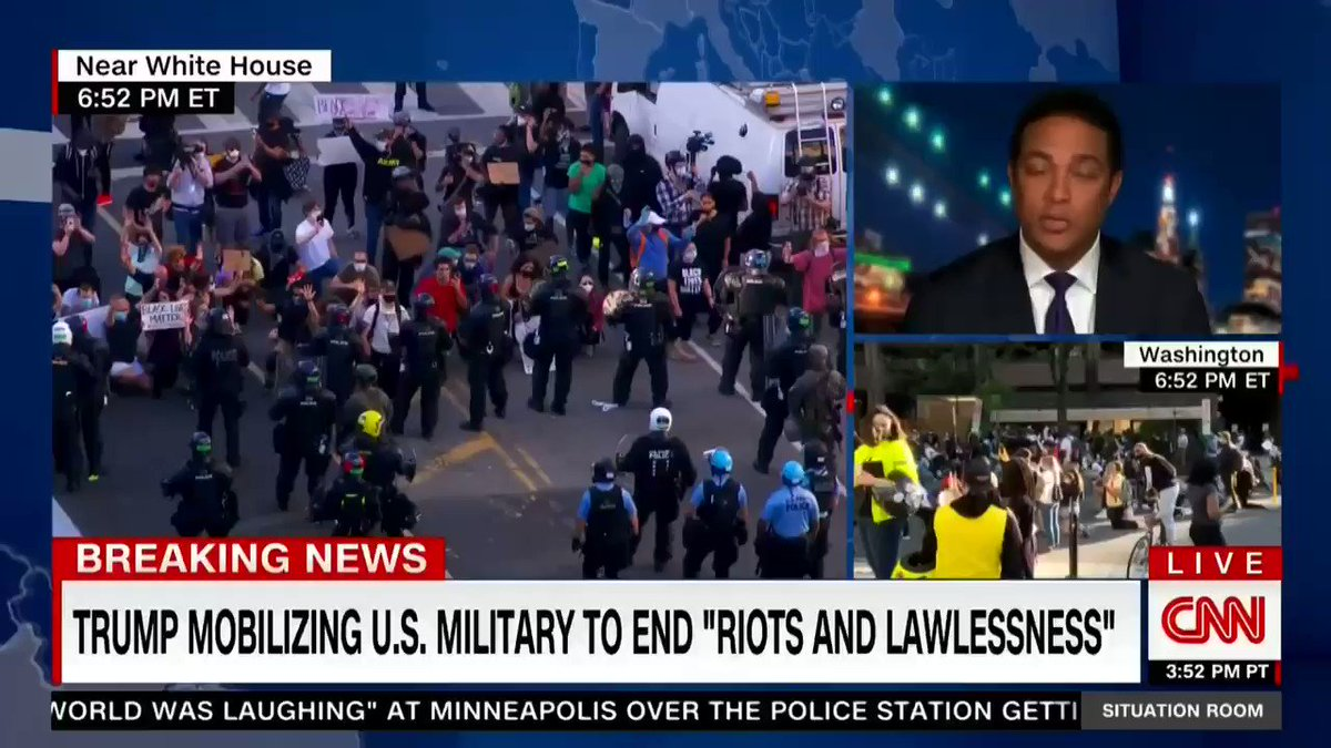"""Don Lemon: """"Open your eyes, America. Open your eyes! We are teetering on a dictatorship."""""""