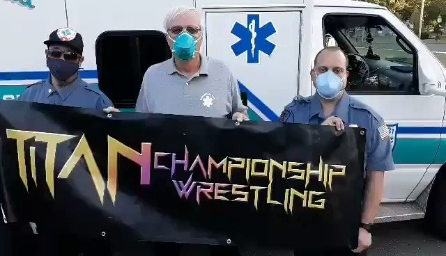 2 SPOTS REMAINING  PayPal $60 to https://t.co/TpY430lMSZ to get your space. Here's a special message from the Ocean Gate Volunteer EMS as they are presenting TCW Presents Drive In Brawl. 100% of the proceeds benefit them so let's sell this out tonight. #WWERaw #WWE #AEWDoN https://t.co/0KjvJulvJf