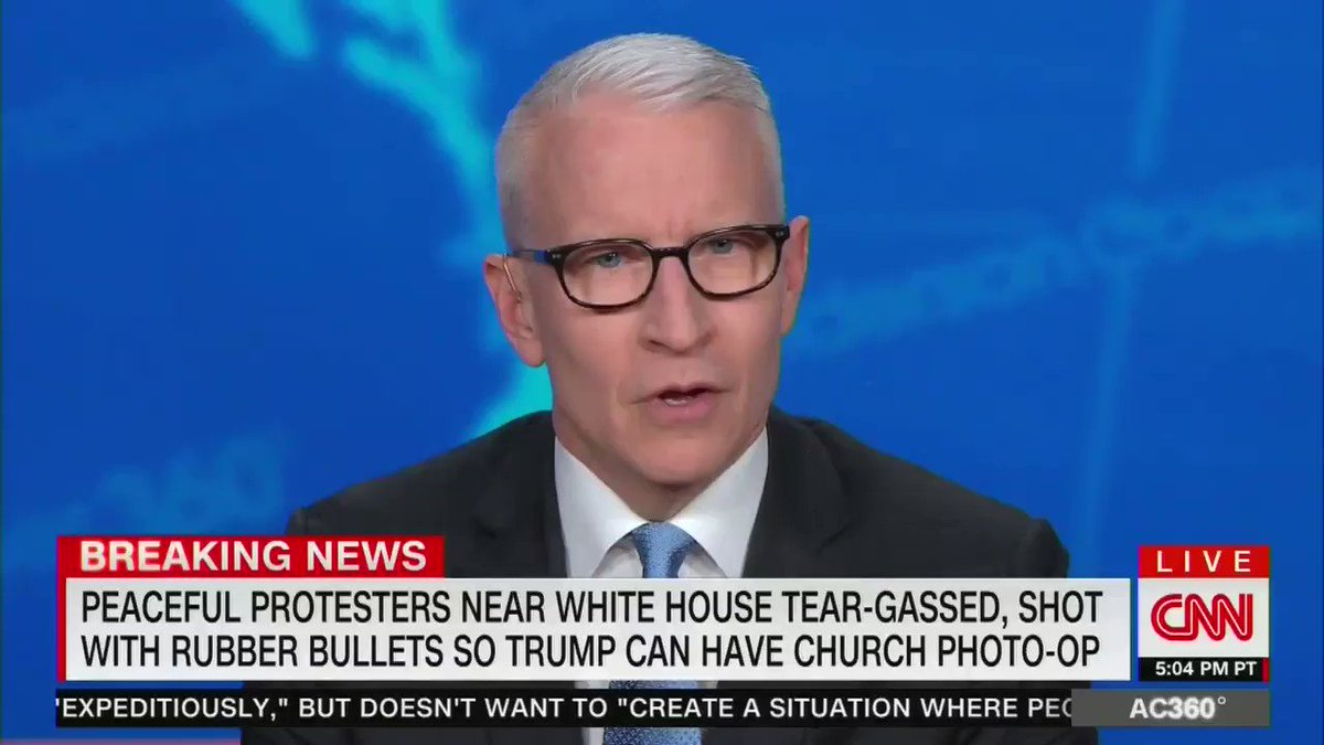 CNN's @andersoncooper to Donald Trump: 'Who's the thug here?'