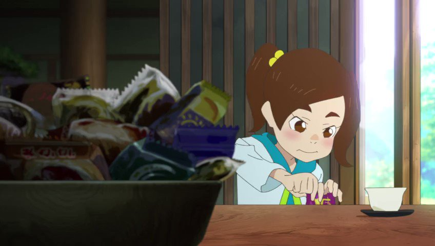 Key Animation: Shuuto Enomoto (榎本 柊斗)Anime: Eizouken ni wa Te wo Dasu na! (映像研には手を出すな!) (2020)
