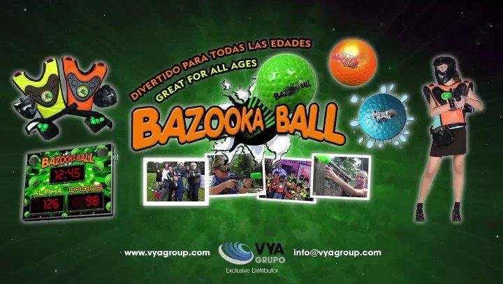 Image for the Tweet beginning: BAZOOKA BALL perfecta combinación del