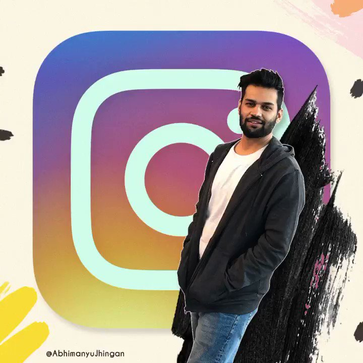 This one is for #Instagram & Team. Thankyouuuuu.  x #bornoninstagram #creator #contentcreator #photographer #advertisingfirm #chandigarh #chandigarhbloggers #chandigarhvlogger #chandigarh_diaries #instagramers #instagramhub @instagram #shimladiaries #creative #giphystickers