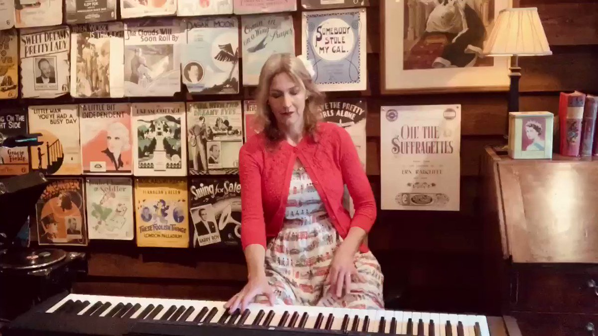 67 years ago today was the Coronation of #QueenElizabeth Here's my arrangement of 'Coronation Rag' by #WinifredAtwell who had a hit record in the charts with it at the time. #Coronationday