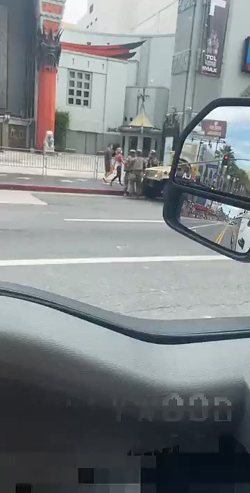 National Guard assets deployed in #Hollywood  pic.twitter.com/BE1xSKdgrZ