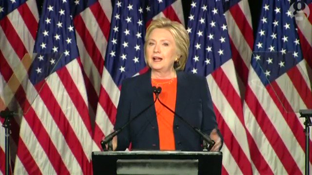 4 years ago today in San Diego. @HillaryClinton declares Trump hopelessly unprepared and temperamentally unfit to be president. Making him our commander in chief would be a historic mistake. I believe he will take our country down a truly dangerous path.