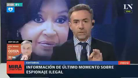 Image for the Tweet beginning: che #PatoLaAgitadora o Luisito Majul,